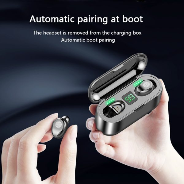 Bluetooth 5 0 Headset Tws Wireless Earphones Mini Earbuds Stereo Headphones Ipx6 Daily Deal Buzz